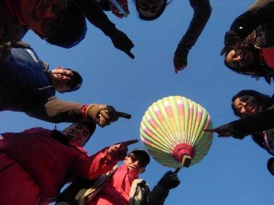 Balloon flight shared in Jerez 1 Hour