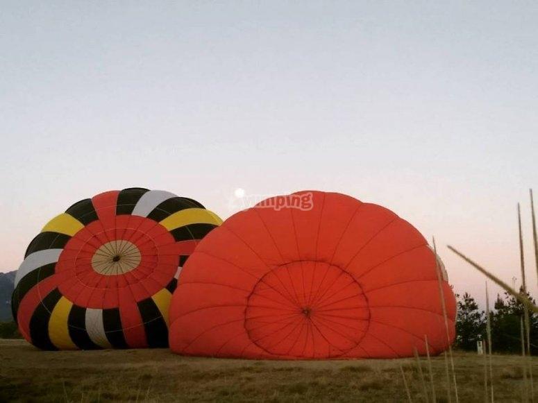 Distintos disenos en globos