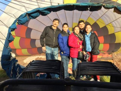 Private balloon flight in Jerez for 60 minutes