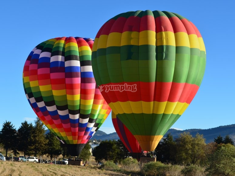 Largest balloons in Latin America