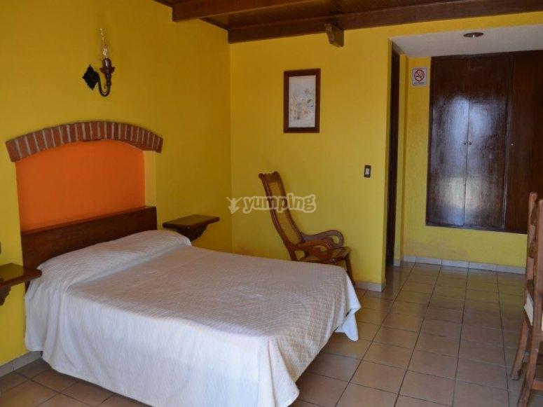 Hospedaje en hotel de Huamantla