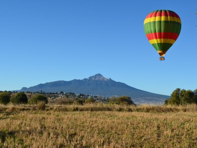 Balloon flight with accommodation in Huamantla