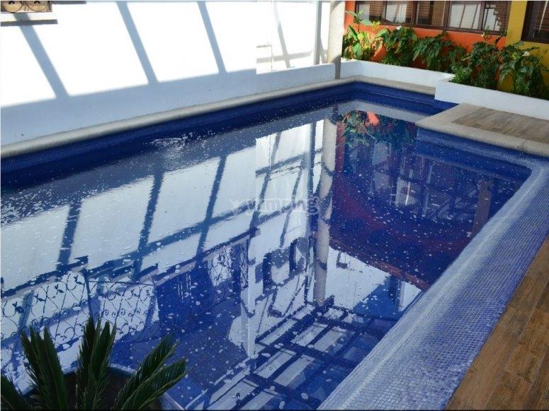 Nice hotel pool