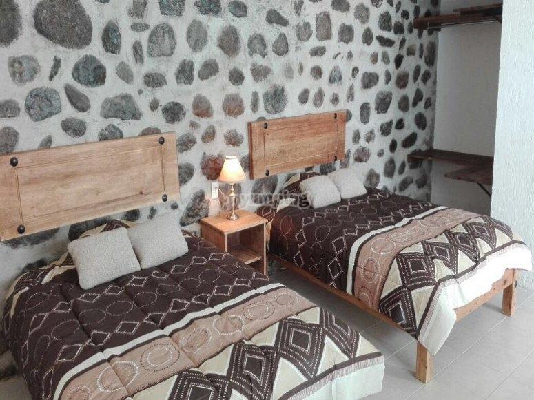 Hacienda rooms