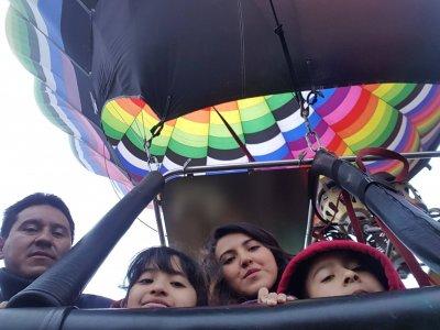 Balloon flight and night at Huamantla ranch kids