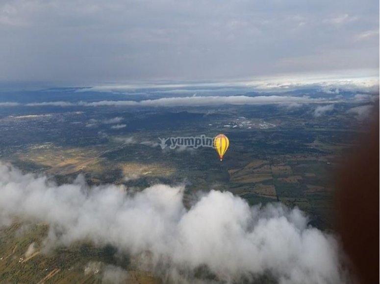 Paseo entre las nubes de Huamntla