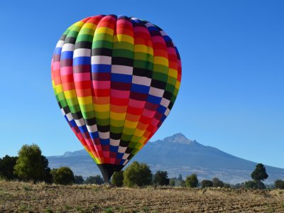 Balloon flight for 2 and lodging Huamantla