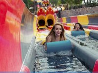 Water park pass and transport from CDMX