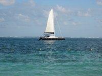 Disfrutando de un paseo en barco