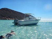 snorkel en la isla Espiritu Sa