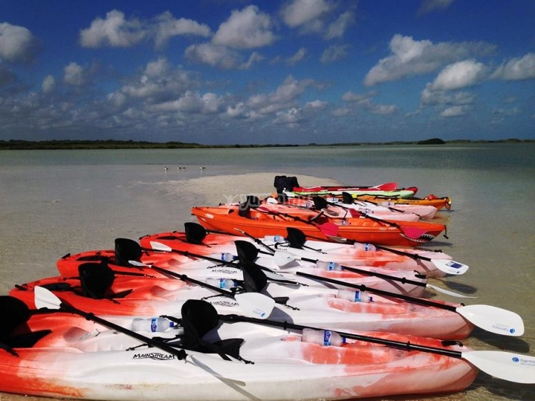 Nuestros equipos de kayak