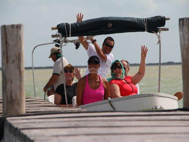 Motorboat trip