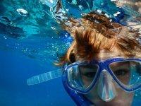 Divierte practicando snorkel