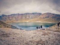 Lagoons in the Nevado de Toluca