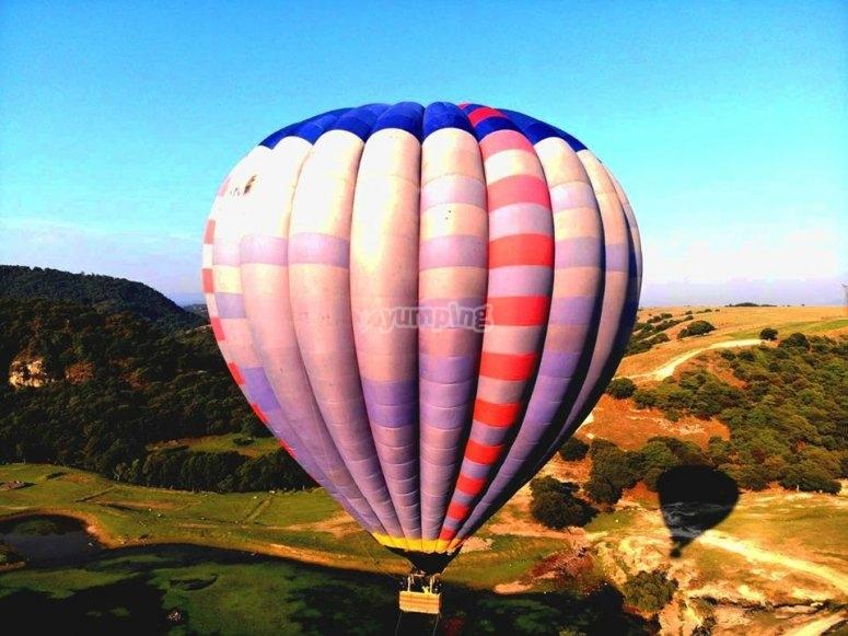 Balloon flights in tepotzotlán