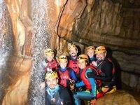 Exploring the El Chorreadero cave