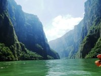 Impressive view of the Sumidero Canyon