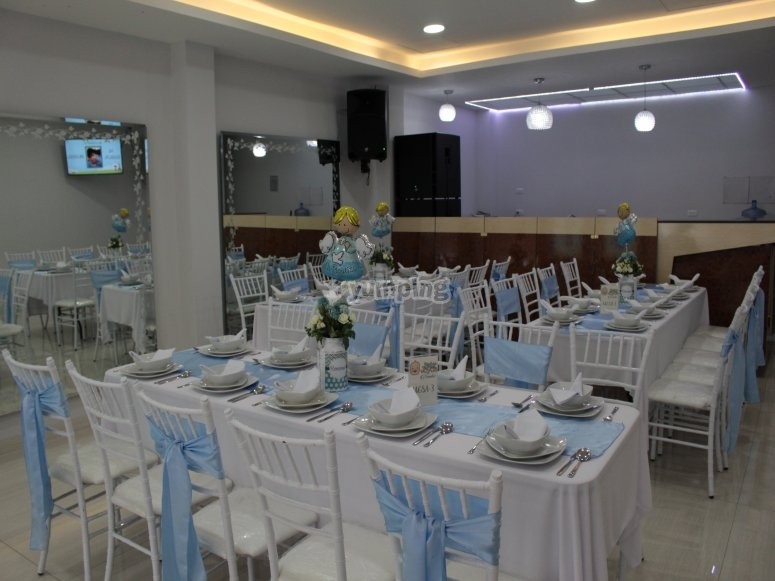 Tables for the guests