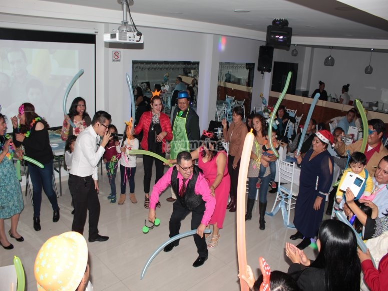 Fun games at the party