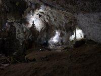 disfrutando el final de la caminata del arcotete a la cueva del mammut