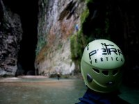 Climbing for El Arcco del Tiempo to leave the La Venta River Canyon