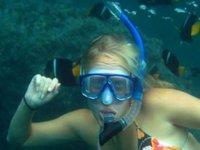 Diversión de snorkel