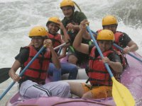 All our camps include rafting