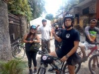 Bike route through Tepoztlán