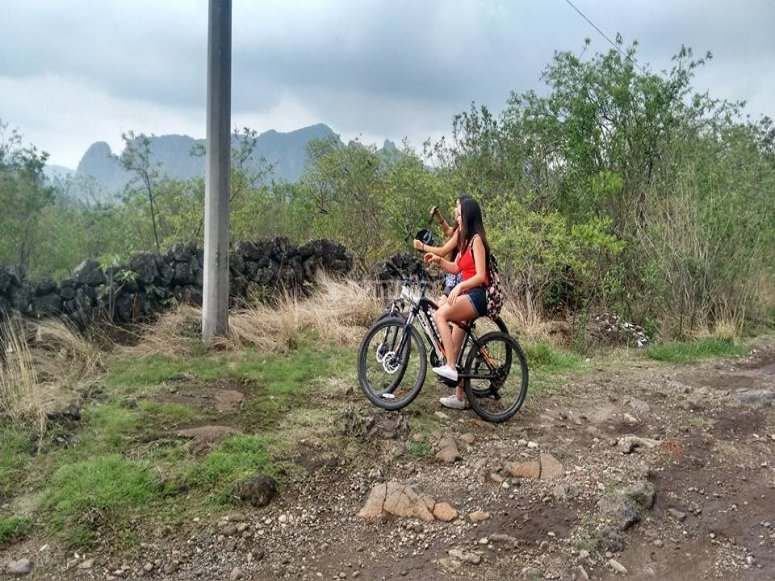 Discovering the flora by bike