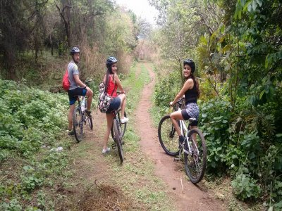 Bike tour through cross country in Morelos 4h