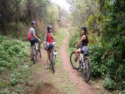Recorrido en bici por campo traviesa en Morelos 4h