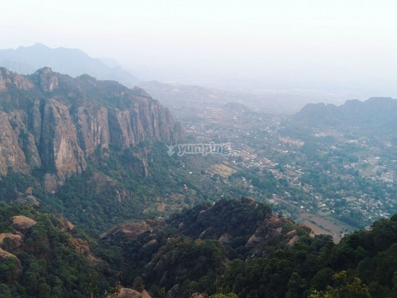 Discover the surroundings of Tepoztlán