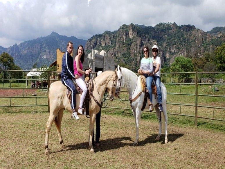 En el rancho San Martin
