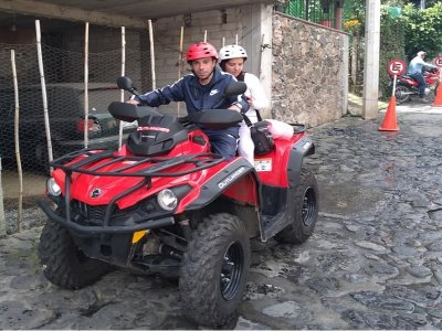 Double quad tour in Tepoztlán 2 hours