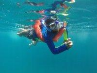 Tour de snorkel por las Islas Marietas