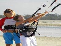 Kiteboarding para niños