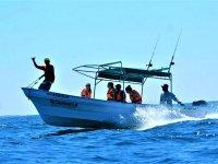 Embarcación privada de pesca