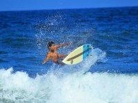Las playas de Sayulita son ideales para el surf