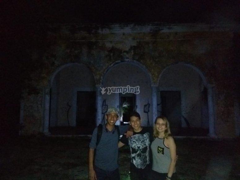 Night tour at the Old Hacienda Misné Balam