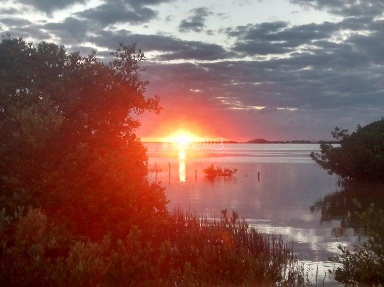 Enjoy the most beautiful sunsets