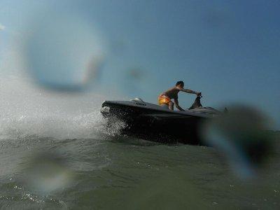 Renta de moto acuática en Puerto Progreso, Yucatán