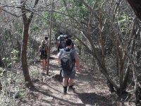 Caminata en un entorno 100% natural