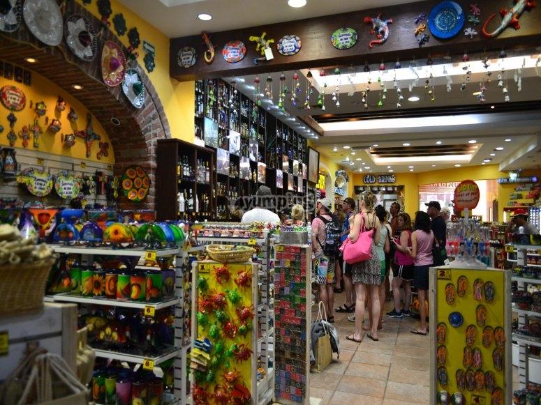 Enjoy the colorful shops of San Jose
