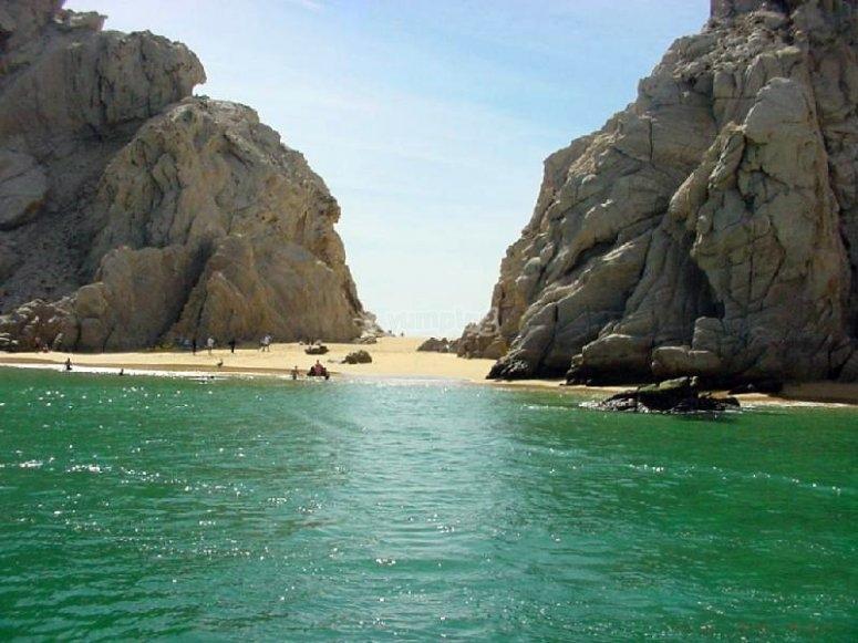 The beautiful Santa María Beach