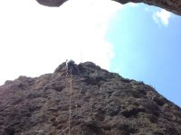 Experience rappelling