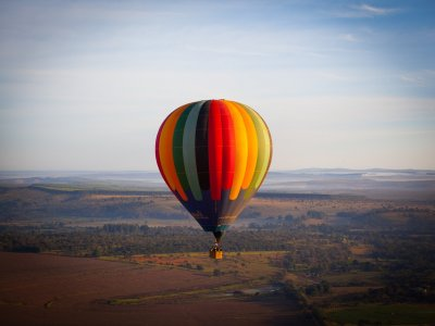 Shared balloon flight in Aculco for 60 minutes