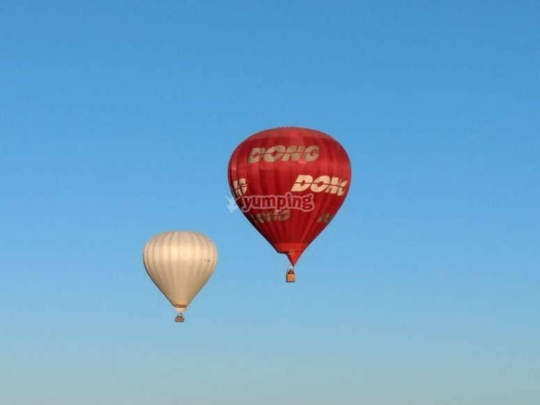 Vuelo en globo en Chignahuapan
