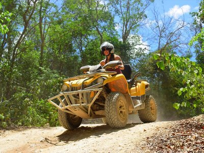 Quad tour and Tulum visit from Cancun 8 h