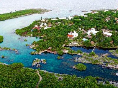 Snorkel en caverna y caleta Yalkú desde Cancún 7h