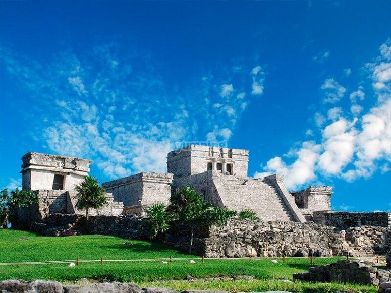 The Mayan city of Tulum